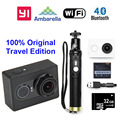 International Version!! Xiaoyi YI WiFi Sport Camera  16MP 60FPS  Ambarella A7 Bluetooth Waterproof Connector Set