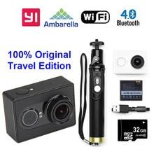 Versión internacional!! Xiaoyi YI WiFi Deporte Cámara 16MP 60FPS de Ambarella A7 Bluetooth Impermeable Conector Set