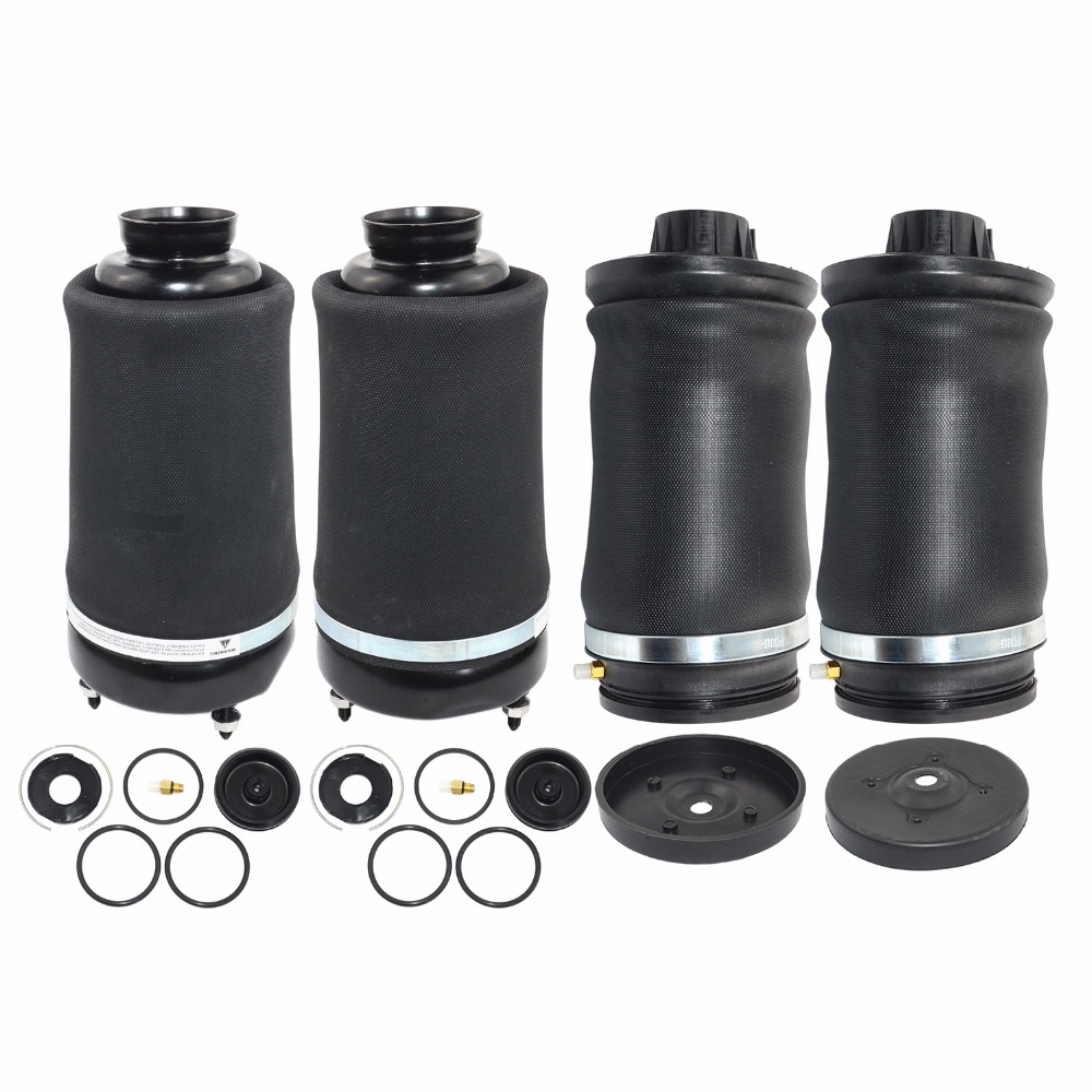 AP02 For Mercedes-Benz ML/GL X164 W164 New Pair Front + Rear Air Ride Suspension Spring Bags 2005-2012 1643202213,1643204513
