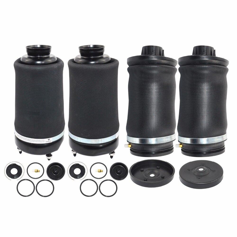 AP02 Voor Mercedes-Benz ML/GL X164 W164 Nieuwe Paar Voor + Achter Vering Lente Tassen 2005-2012 1643202213,1643204513