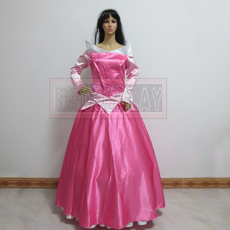 Aurora Princess Dress Sleeping Beauty Cosplay Costume for women halloween Custom-made