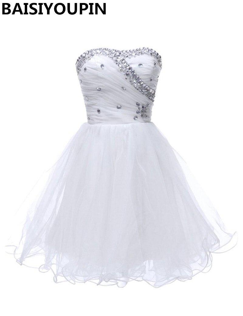 Black dress under white graduation gown - Short White Graduation Dresses 2016 Free Shipping Homecoming Dresses Cheap Pretty Dresses For Girls China