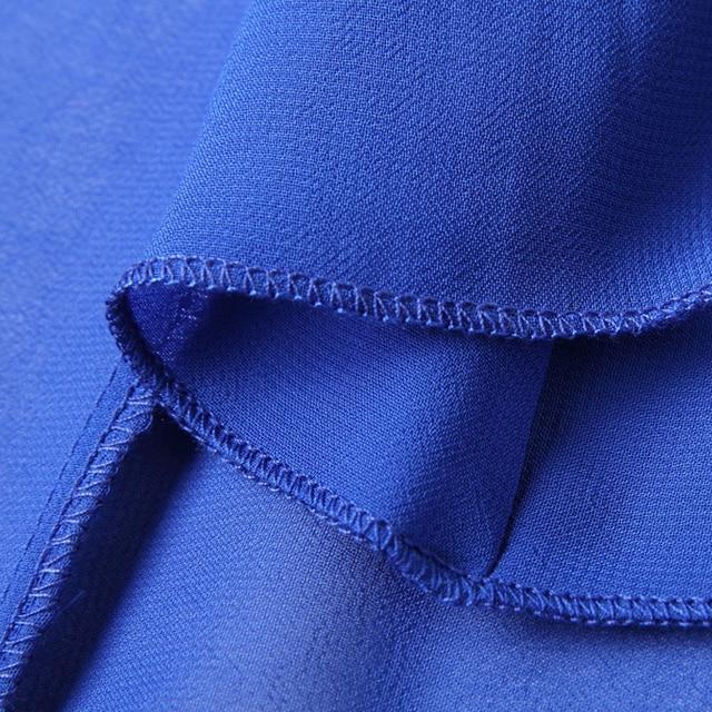 2021  Long Sleeve Solid Color Bohemia Elegant Plus Size Full Length Maxi Dress Holiday Beach Bridesmaid Sundress 4