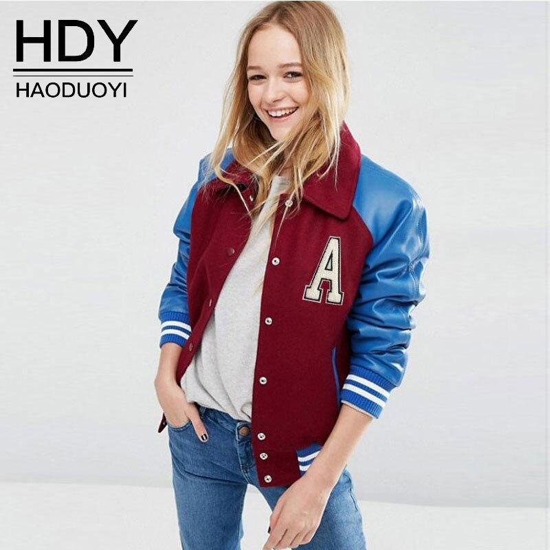HDY Women Coats Basic Jackets 2017 Autumn Winter Thin Single Breasted Jackets Long Sleeve Pockets Cardigan Coat Woman Jacket