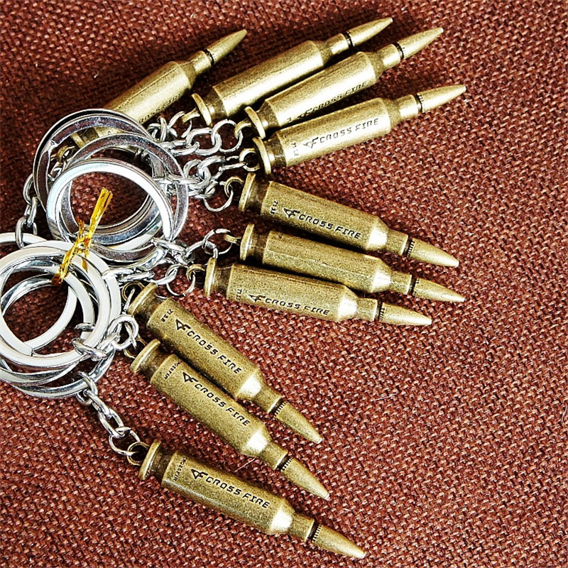 Bullet keychains (3)