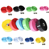 Hot sale 2 x new cycling road bike sports cork handlebar tape 2 bar plug 8.jpg 200x200