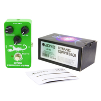JOYO JF 10 Dynamic Compressor Guitar Effects Pedal Dynamic Classic Ross Attack Level Sustain True Bypass