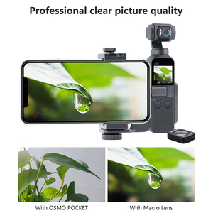 Image 3 - 울란 지 업데이트 HD 4 천개 삼투 포켓 자기 1.33X 아나모픽 렌즈 광각 매크로 렌즈 Dji 삼투 포켓