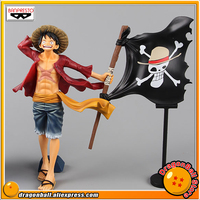 Japan Anime ONE PIECE Original Banpresto Magazine FIGURE Collection Figure Monkey D. Luffy