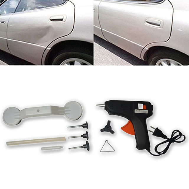 Universal Car Fix Dent Repair Tool Kit Hand Tools Body Vehicle Auto Glue Stick Pulling