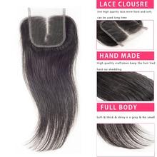 brazilian virgin hair closure queen hair products brazilian virgin hair straight closure human hair lace closure 4* 4 three part