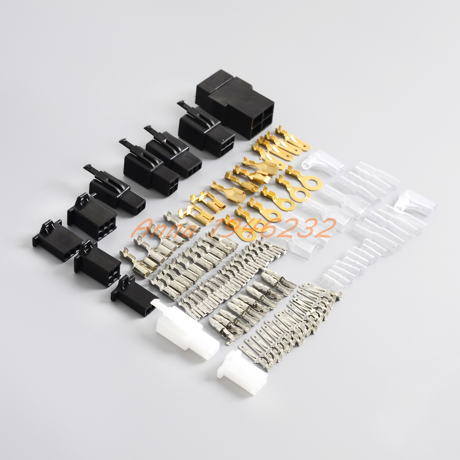 Electrical Wiring Harness Loom Repair Kit Plugs Bullets For Honda Gb500 Nc50 Cb500 Cbr250 Vf750 Cb125 Cb250 Cb400 Cb750 Cbr1000 Cbf600 In Covers Ornamental