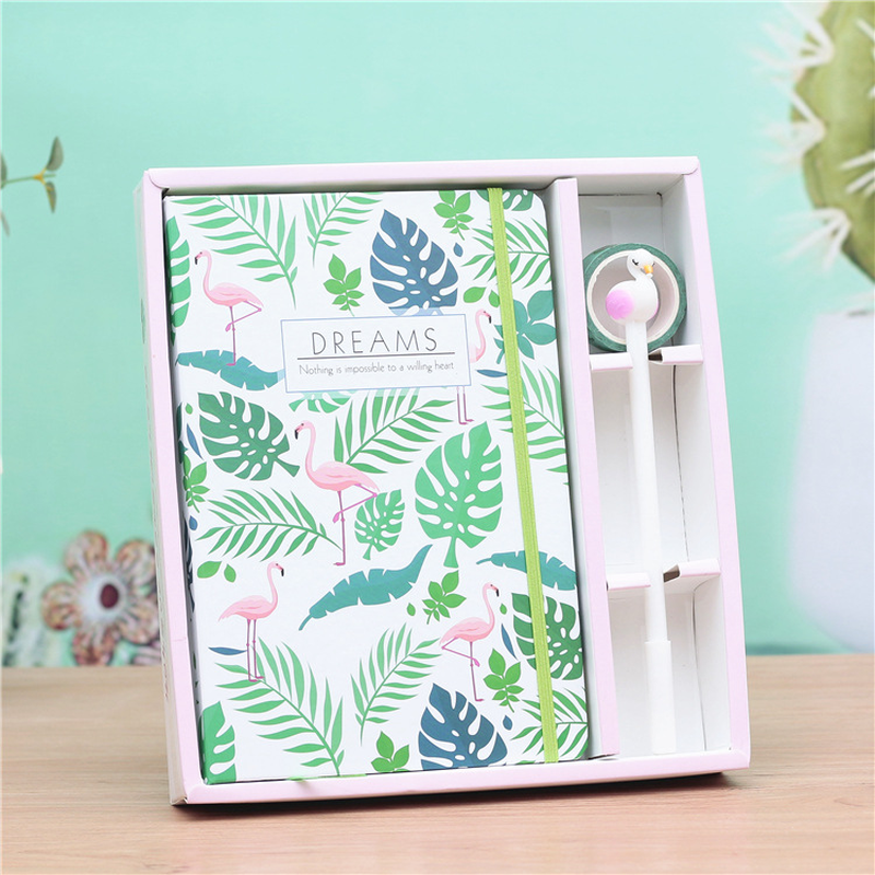 Little Fresh Flamingo Princess Diary Student Notebook Paper Book Writing Pads Office & School Supplies Stationery Wholesale GiftLittle Fresh Flamingo Princess Diary Student Notebook Paper Book Writing Pads Office & School Supplies Stationery Wholesale Gift