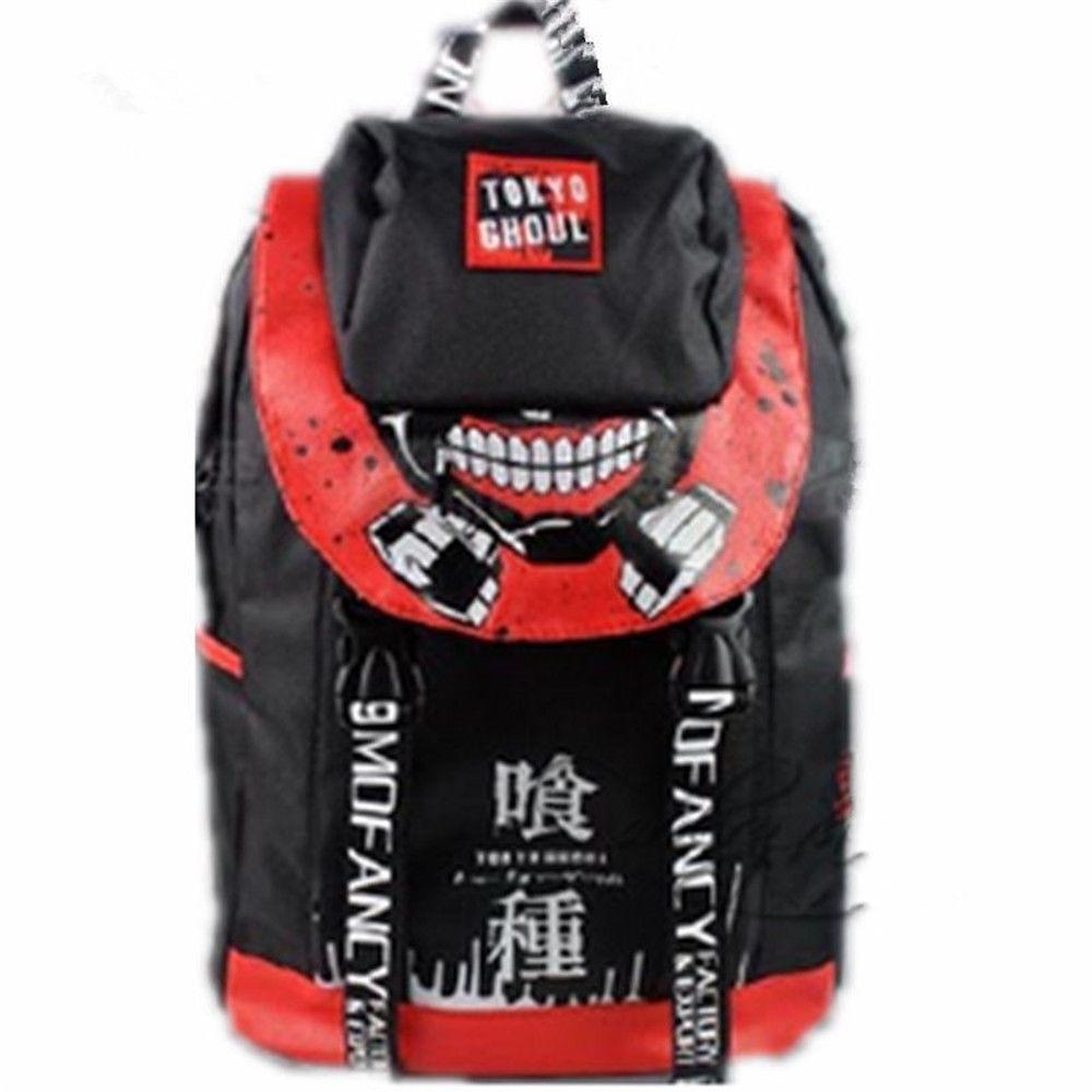 Anime Tokyo Ghoul Ken Kaneki Travelling Backpack School Student Shoulder Bag Gift Back to School