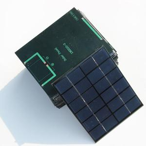 Image 2 - BUHESHUI 6V 0.33A 2W Mini Solar Panels Solar Power 3.6V Battery Charger Solar Cell 136*110*3 MM 10pcs/lot Drop Free Shipping