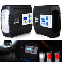 12V 100PSI WINDEK Portable Car Motor Motorcycle Tire Inflator Pump Auto Air Compressor with Preset function