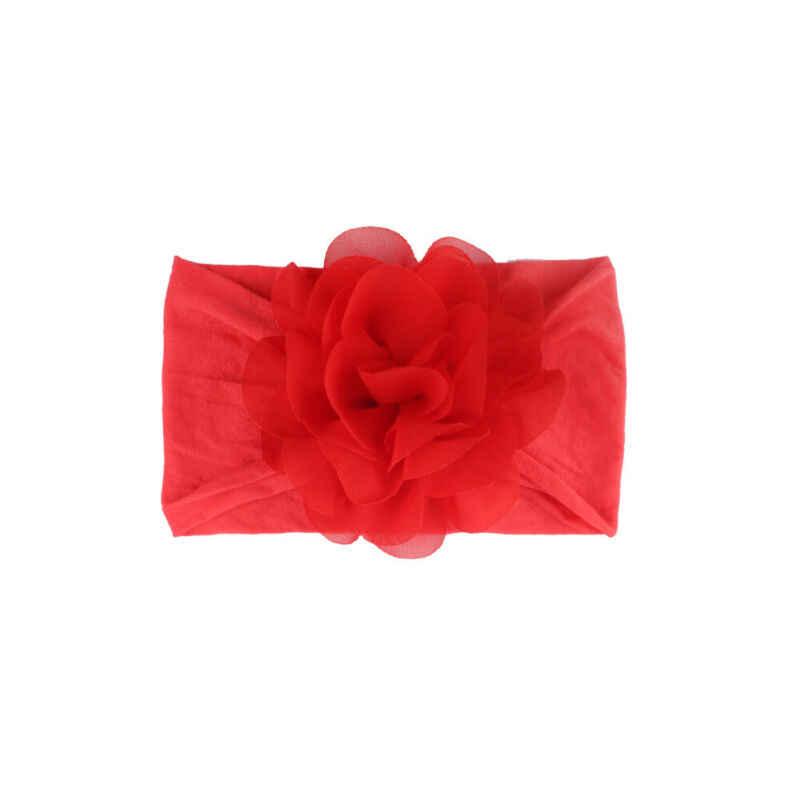 เด็กวัยหัดเดินเด็กหญิงเด็กหญิงชีฟองดอกไม้ Headband เด็กทารกอุปกรณ์เสริมผมหวาน Hairband Headwear