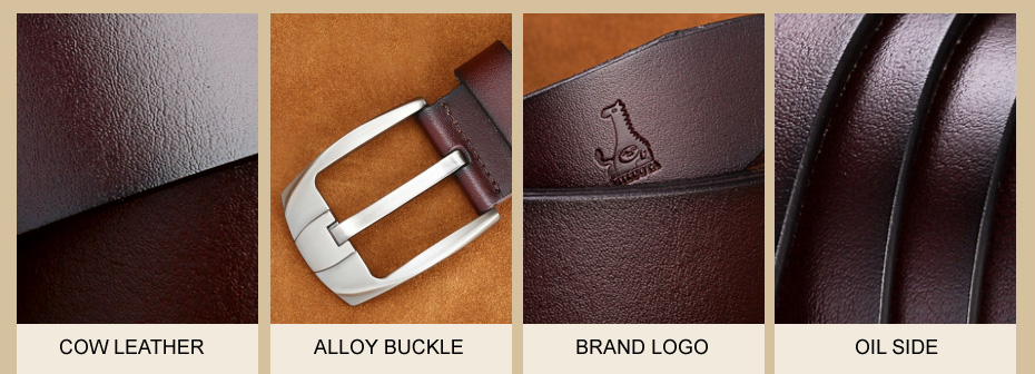 [MILUOTA] 2016แฟชั่นออกแบบเข็มขัดผู้ชายที่มีคุณภาพสูงวัวแท้สายหนังผู้ชายเข็มขัดMU065 20