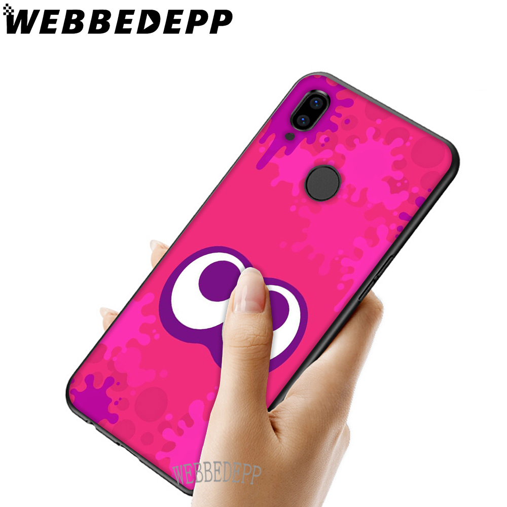WEBBEDEPP Cute Hot Splatoon Art Soft TPU Case Cover for Xiaomi Redmi GO Note 4 4X 5 6 pro 5A Prime 7 7 Pro in Fitted Cases from Cellphones Telecommunications