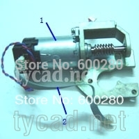 C4713-60094 for HP Designjet 430 450C 455CA 488CA Paper (X-axis) drive motor Original used c4713 60040 cutter assembly for fit hp designjet 430 450c 455ca 488ca used