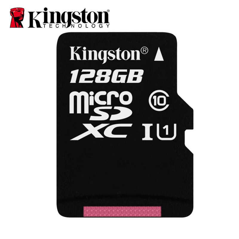100% Оригинальный Kingston Micro SD карта 64 Гб карта памяти 32 Гб 128 Гб класс 10 TF карта 16 Гб MicroSD UHS-1 8 Гб класс 4 флэш-память