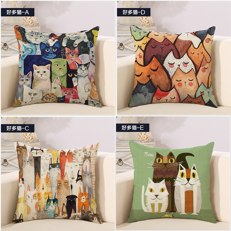 Strong-Willed Collection Of Animal Fruit Diamond Art Geometry Pillow Cover Massager Decorative Pillows Warm Home Decor Elegant Gift Garden Supplies