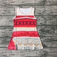 e5690ee23731 Aborígenes nova chegada do Verão do bebê meninas vestido sem mangas de seda  leite impressão Asteca boutique de roupas crianças d.