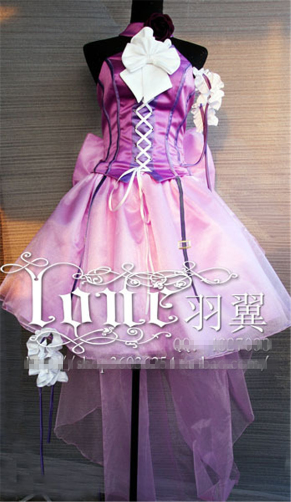 Anime MACROSS cosplay Queen cosplay costume ball dress Halloween uniform party suit Free Shipping custom made halloween queen cosplay dress