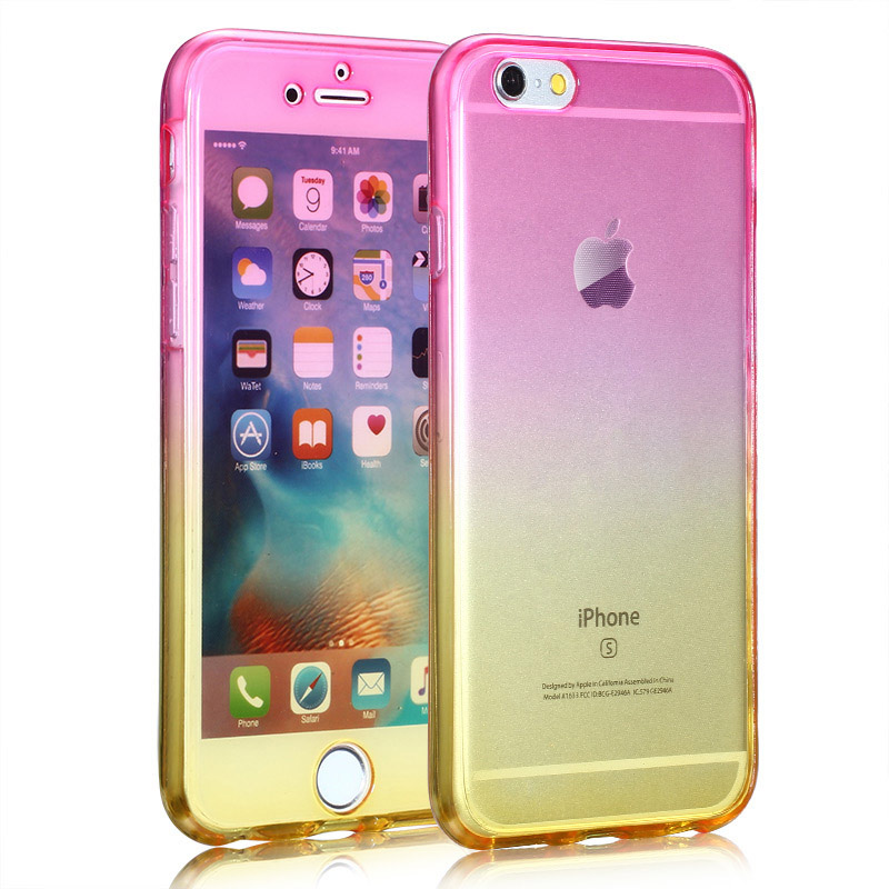 Kasatin Clear full cover silicone case for i6 6s (7)