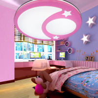 Children Lamp Creative LED Ceiling Lights Remote Control Dimmer Color Cartoon Absorb Living Room Restaurant Superior