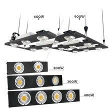 CREE CXB3590 200 Вт 300 Вт 400 Вт 600 Вт 900 Вт COB Диммируемый светодиодный светильник для выращивания растений полный спектр Светодиодная лампа для выращивания растений в помещении светильник для выращивания растений
