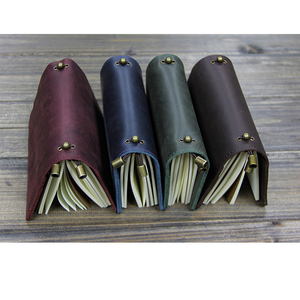 Image 5 - Alicia Story 100% cuero genuino multifunción diario de viajero diario Vintage hecho a mano cuero cuaderno planificador