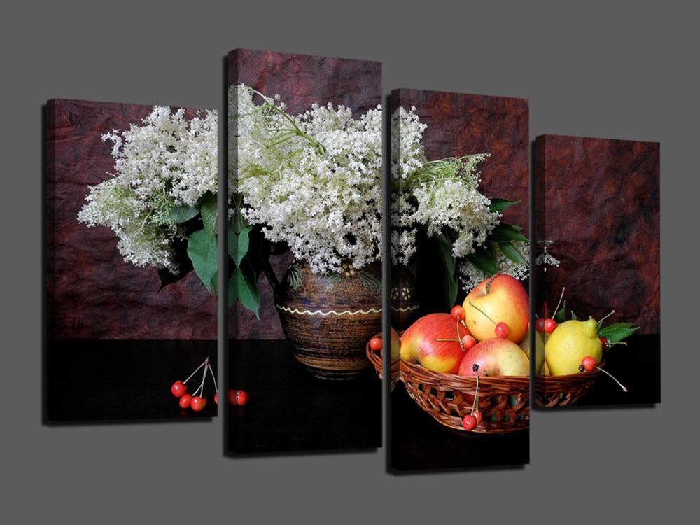 heiber verkauf 4 panels wand fur wohnzimmer statische wohnkultur leinwand malerei ungerahmt