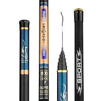 Super Hard Fishing Rod Carbon Fishing Pole 8 10 11 12 13 14 15m Portable Light