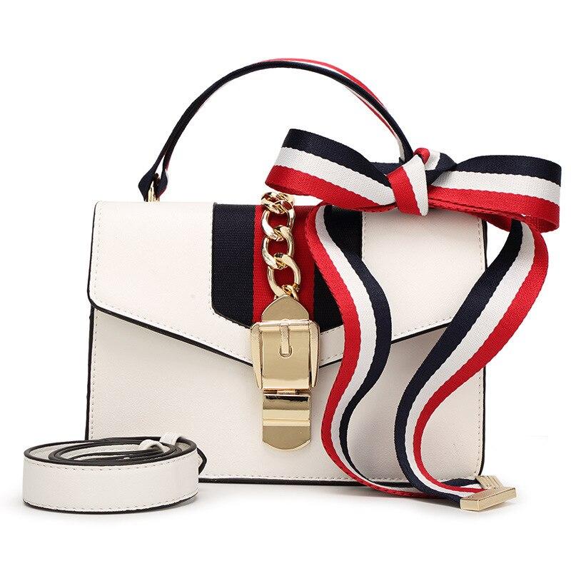 купить new 2017 summer new handbag european and American fashion rivet chain bag shoulder messenger bag small square handbag в интернет-магазине