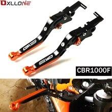 オートバイレバー CNC のための調整可能なブレーキクラッチレバー honda CBR1000F CBR 1000F SC24 1993 1994 1995 1998