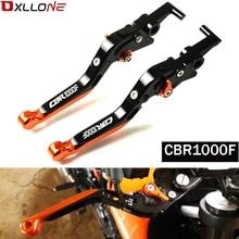 Palancas de embrague de freno extensibles plegables ajustables CNC para motocicleta honda CBR1000F CBR 1000F SC24 1993 1994 1995 1998