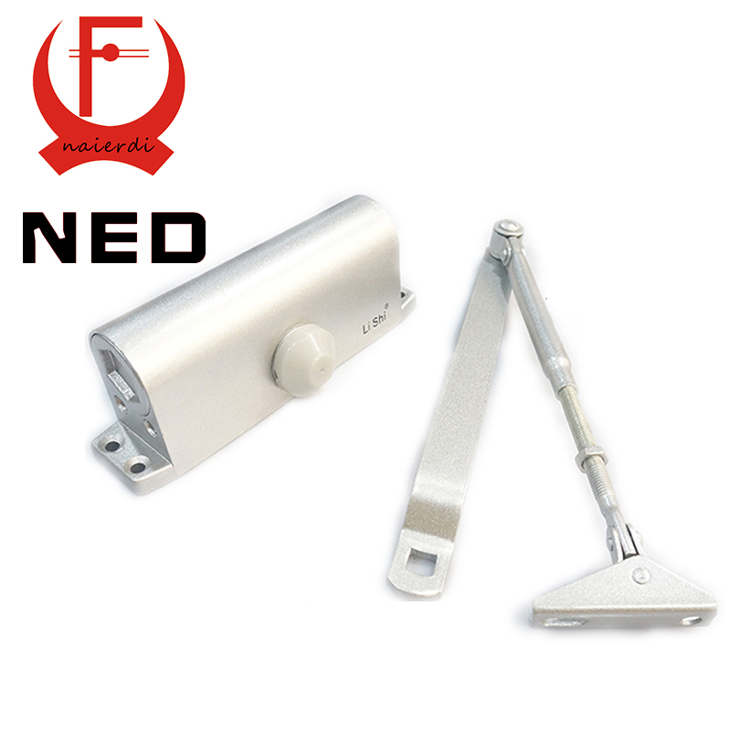 Haute qualité marque NED Type de ménage réglable arrêt de porte Type de tampon de canal de feu ferme - portes automatiques portant 45 - 65 KG