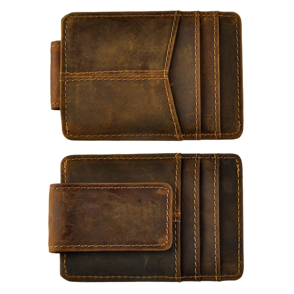 Male Quality Leather Travel…