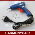Free shipping 1 pieces Hot Melt Glue Gun, European standards Plug, Rated Voltage 110-240v, 15W, glue gun for hot melt
