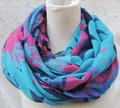 2016 Voile Infinity Scarf For Women Fashion Long Ring Scarves All season 100*180cm 10pcs/lot #3814