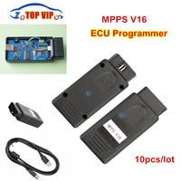 10pcs Lot DHL Free MPPS V16 ECU Chip Tuning Tool For EDC15 EDC16 EDC17 MPPS V