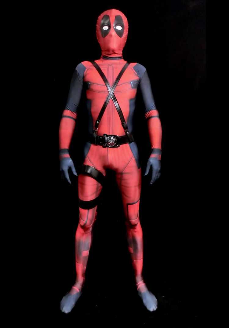 Compare Prices on Deadpool Costume 3d Printed- Online Shopping/Buy ...