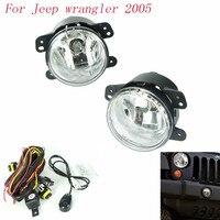 Fog Light For Jeep Wrangler 2005 Fog Lamps Clear Lens Bumper Fog Lights Driving Lamps Daytime