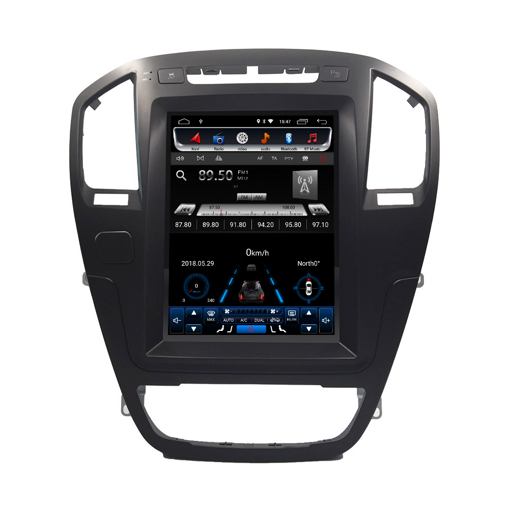 4 גרם אנכי מסך android6.0 רכב gps מולטימדיה וידאו רדיו נגן במקף עבור אופל insignia רכב navigaton סטריאו