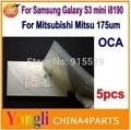 5 шт. для Samsung galaxy s3 MINI i8190 ОСА оптический ясно клей двухсторонняя наклейка ОСА клей для жк-стекла ремонт 250um