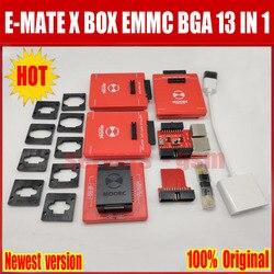 Newes E mate box E-mate X EMMC BGA 13 IN 1 Support BGA100/136/168/153/169/162/186/221/529/254 for Easy jtag plus UFI box RI