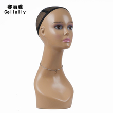 Free Shipping! Female Mannequins PE Realistic Mannequin Head For Wig Jewelry Hat Display Wigs Mannequin Model Head