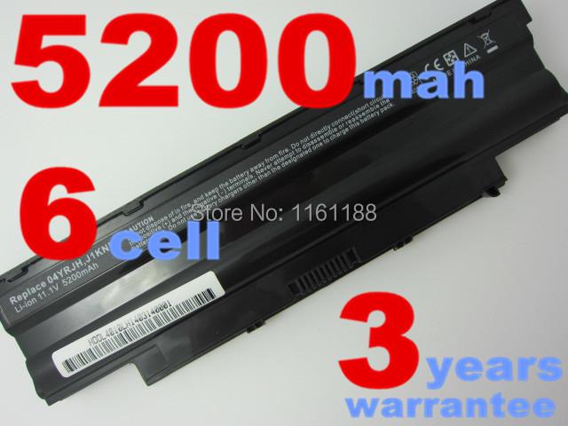 Batería del ordenador portátil para dell inspiron 14r n4010 n4010d 13r n3010d n7010 n5010 n3010 n3110 n4050 n5010d n4110 n5110 n7010 j1knd