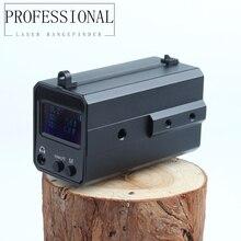 Открытый 6-700 м мини-дисплей с OLED экраном лазерный автоматический дальномер 20 мм волновой рейкой охотничья оптика riflescope части